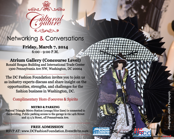 Cultural Couture Networking & Conversations