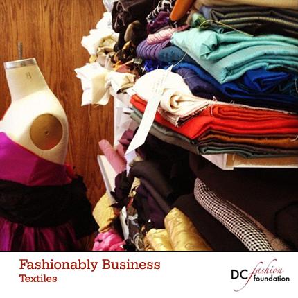 DC Fashion FOundation Textiles Class