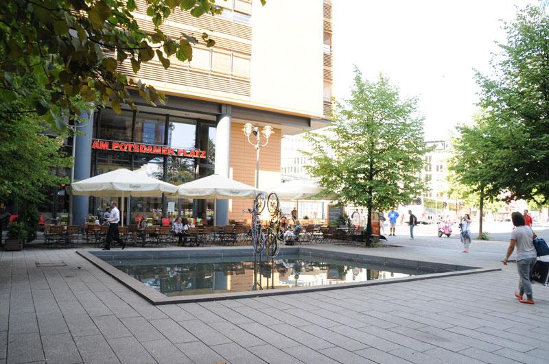 Mommseneck am Potsdamer Platz