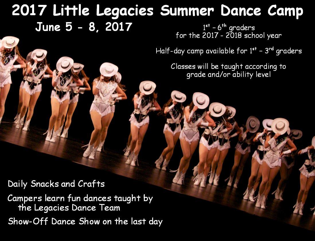 Delightful 2017 Little Legacies Summer Dance Camp Tickets, Austin Eventbrite