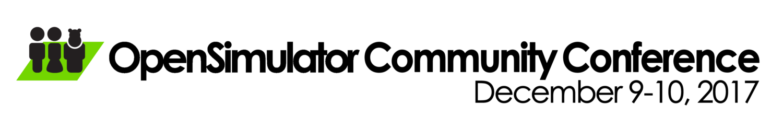 OpenSimulator Community Conference 2017 logo