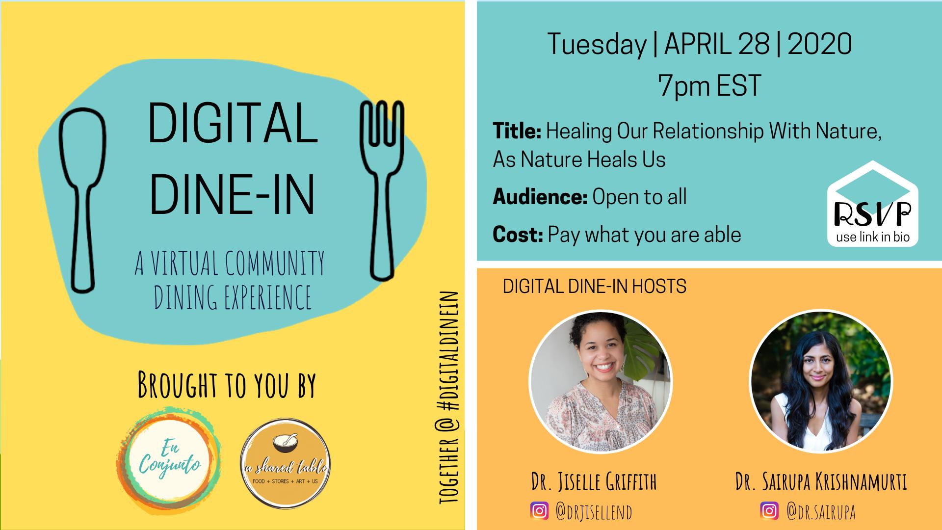 April 28 Digital Dine In