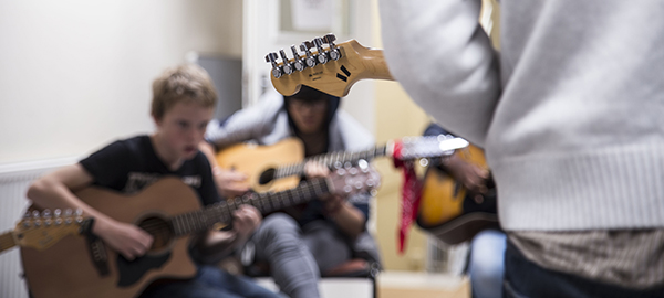 Guitar session at May 2014 Bootcamp