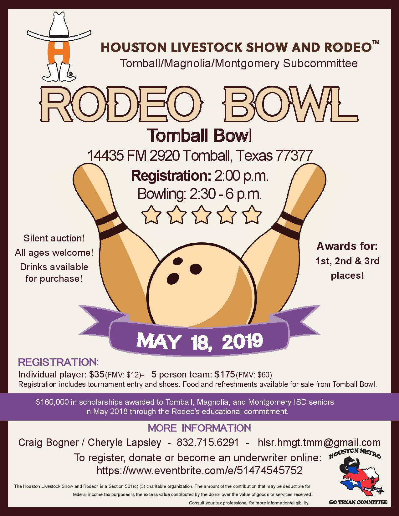 Tomball Magnolia Montgomery Rodeo Bowl 2019 Tickets Sat
