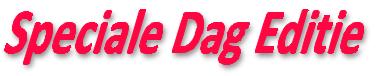 Speciale Dag Editie kleinste