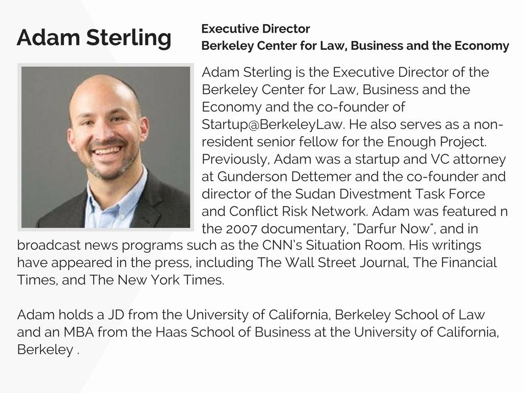 Adam Sterling