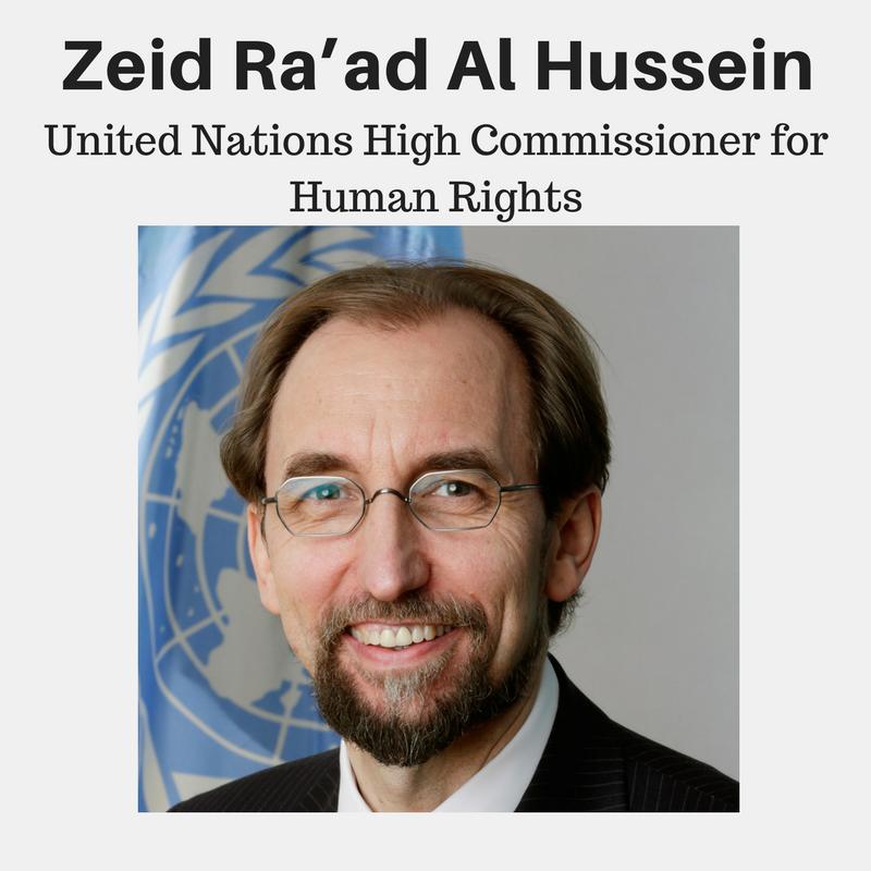 Zeid Raad al Hussein, UN
