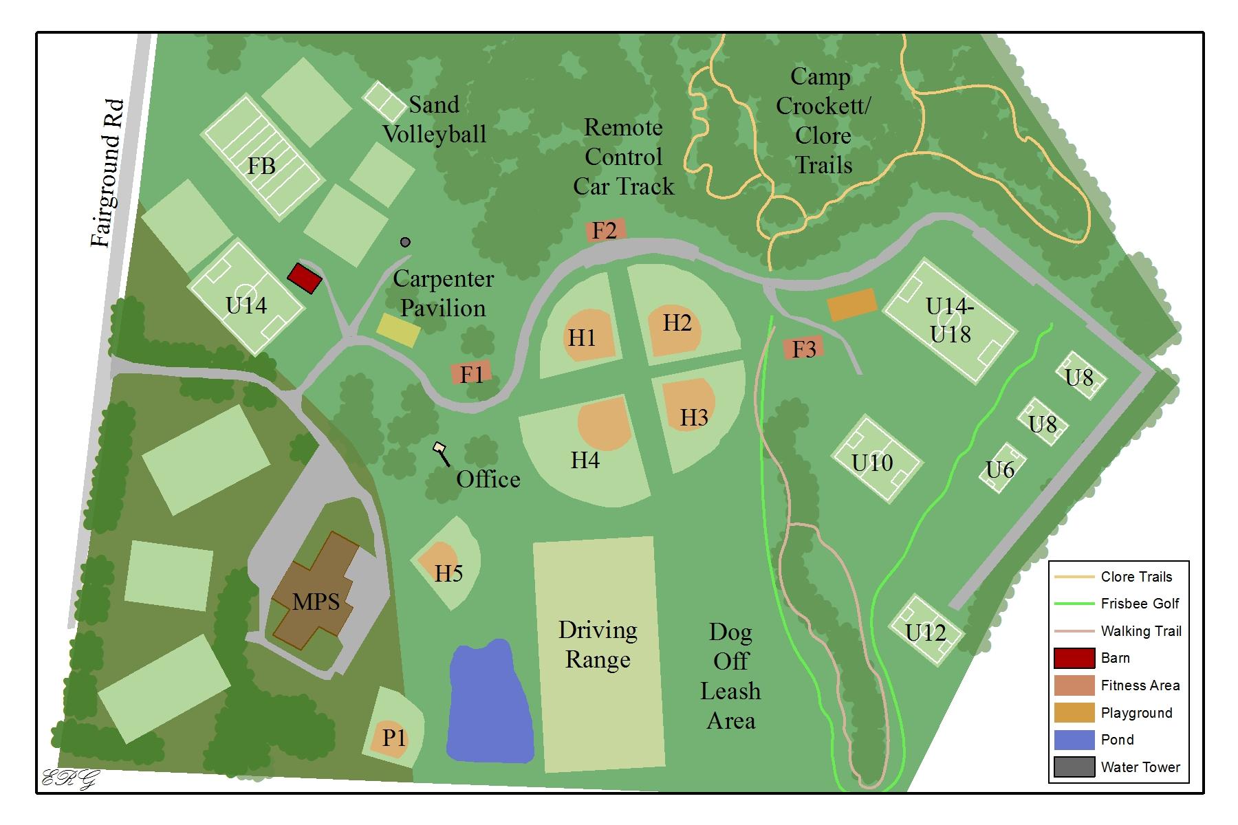 Wine Fest Map