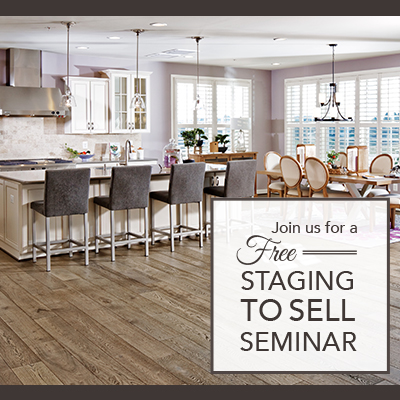 Staging to Sell Seminar!