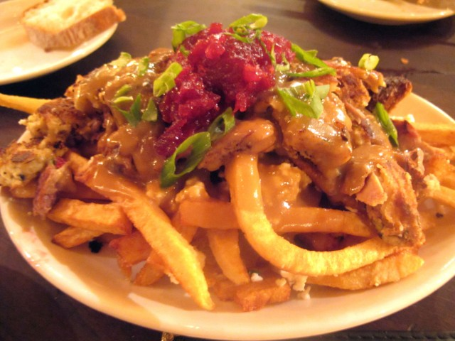 Poutine at the Gallows