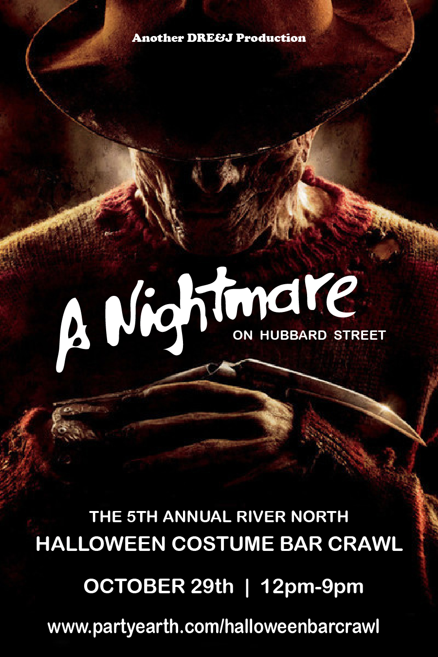 Halloween Bar Crawl - A Nightmare on Hubbard Street Tickets, Sat ...