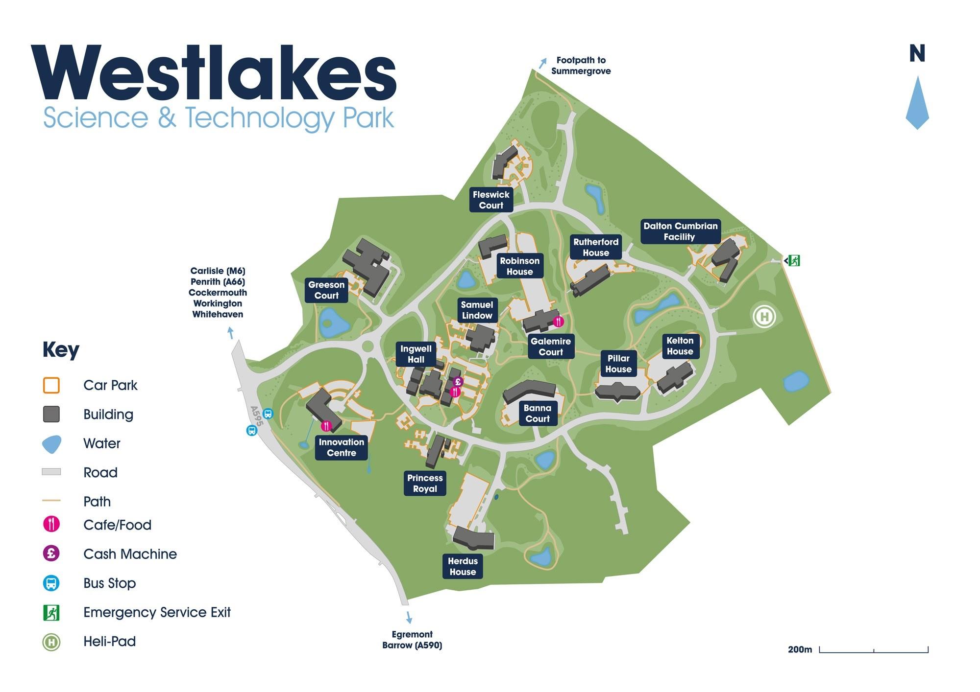 Westlakes Map