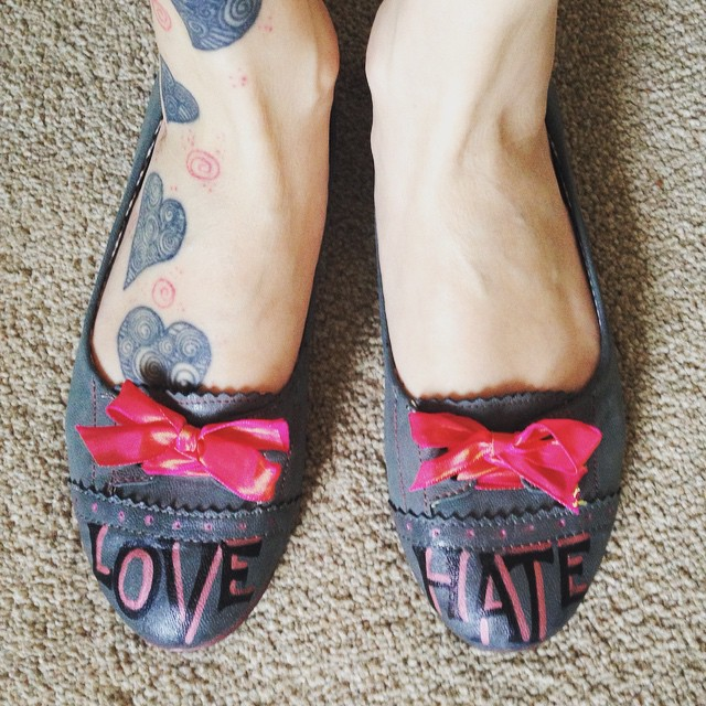 Love / Hate shoes