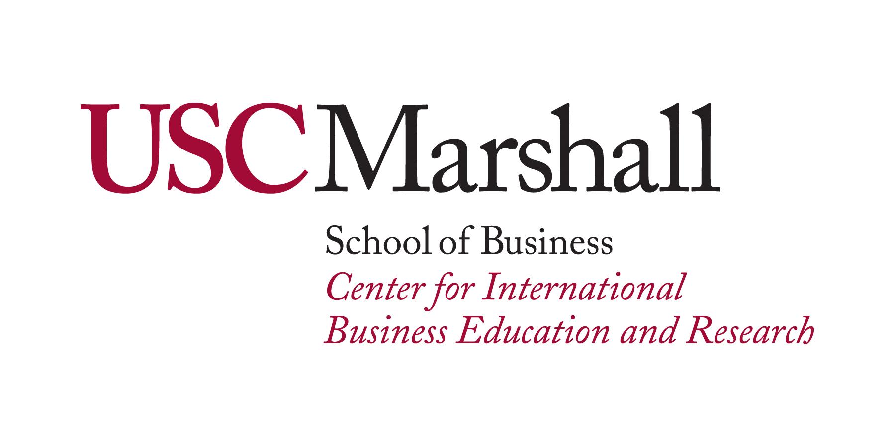 USC Marshall CIBER Logo