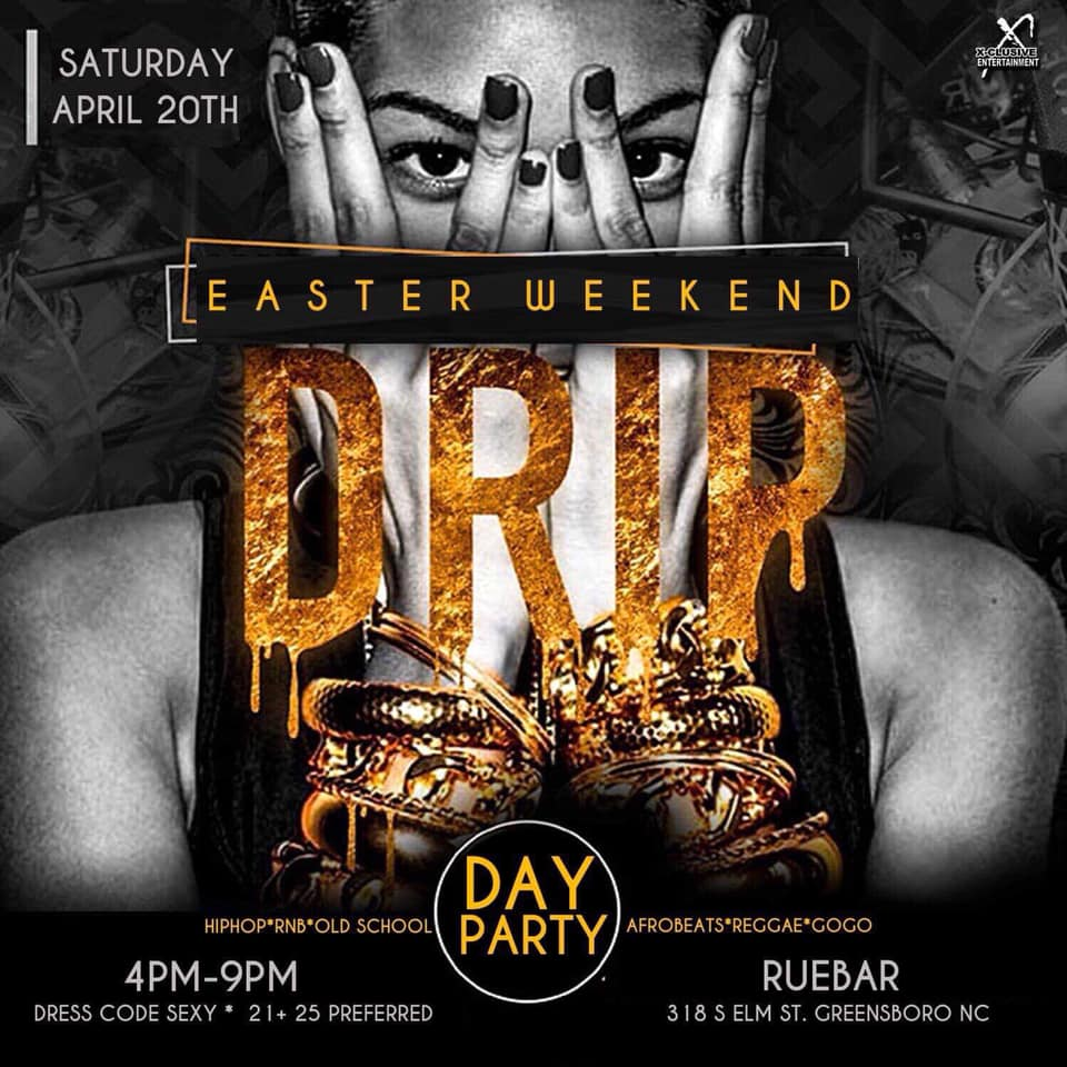 DRIP DAY PARTY