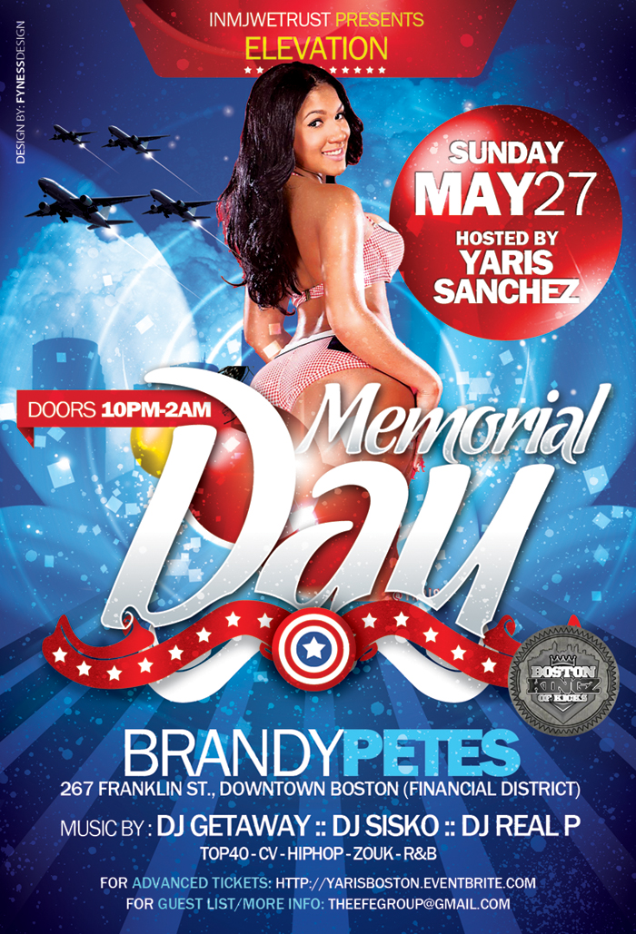 Yaris Sanchez Memorial Weekend Party Tickets | Eventbrite