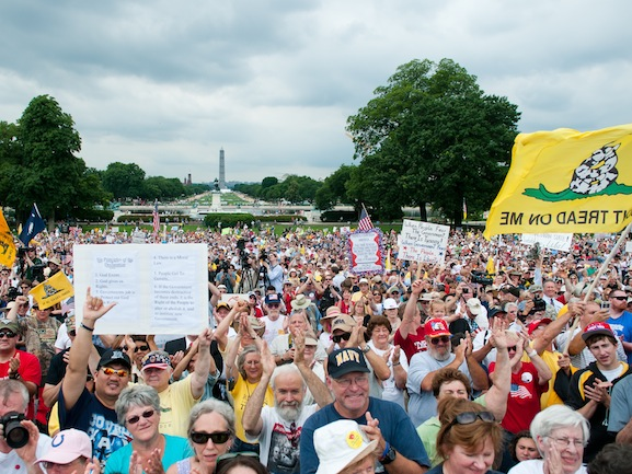 tea party rally in dc