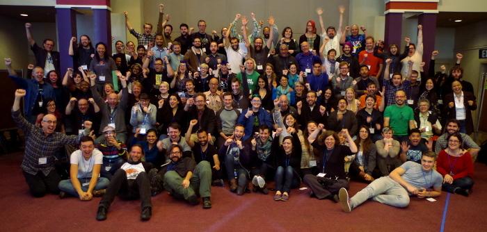 Dev Summit 2016 group photo