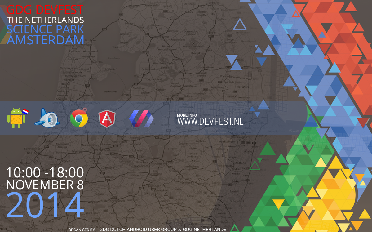 GDG DevFest The Netherlands 2014