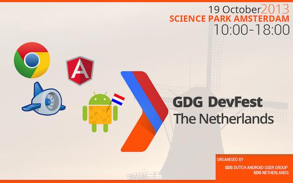 GDG DevFest The Netherlands