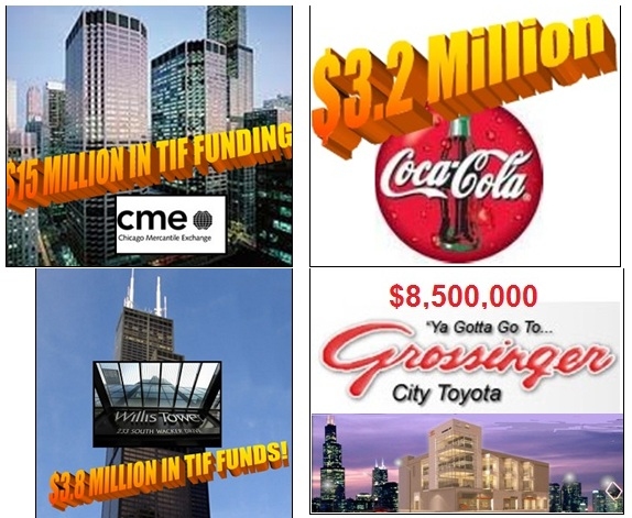 These big companies received public dollars
