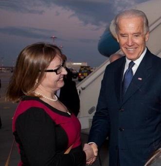Kitty + Vice President Biden