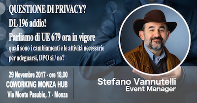 Stefano Vannutelli - Event Manager