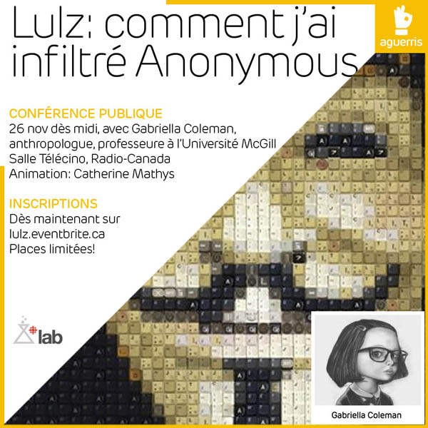 Lulz: comment j'ai infiltré Anonymous