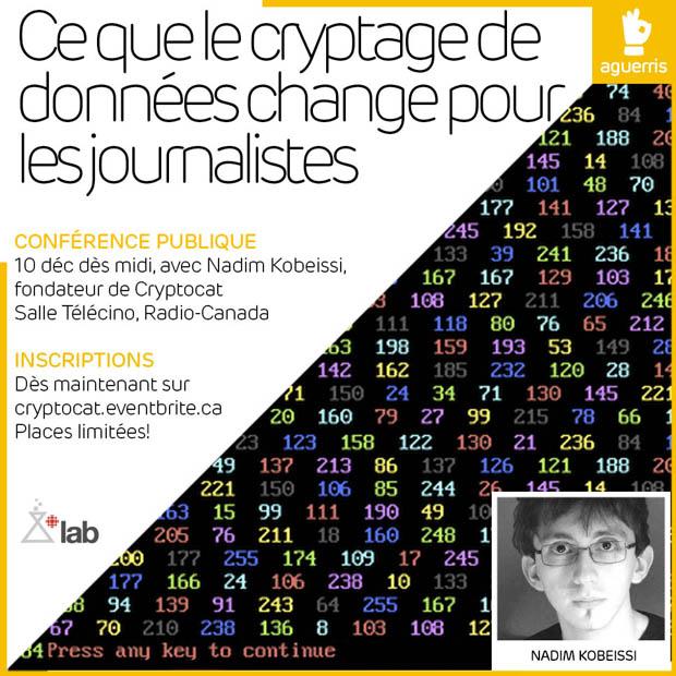 Ce que change le cryptage de données pour les journalistes