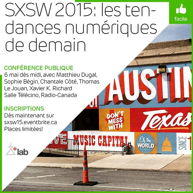 SXSW 2015: les tendances du web de demain