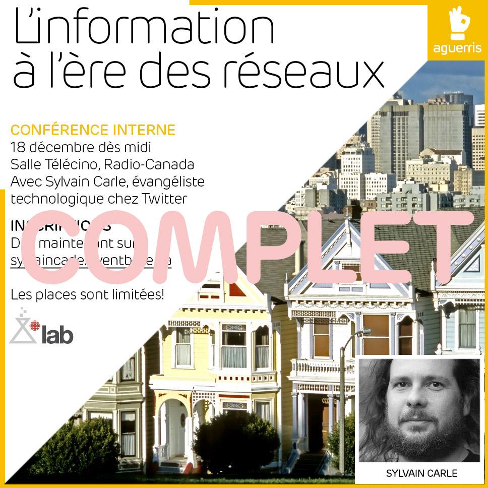 L'information à l'ère des réseaux, avec Sylvain Carle