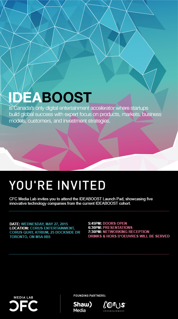 2015 IDEABOOST Launch Pad