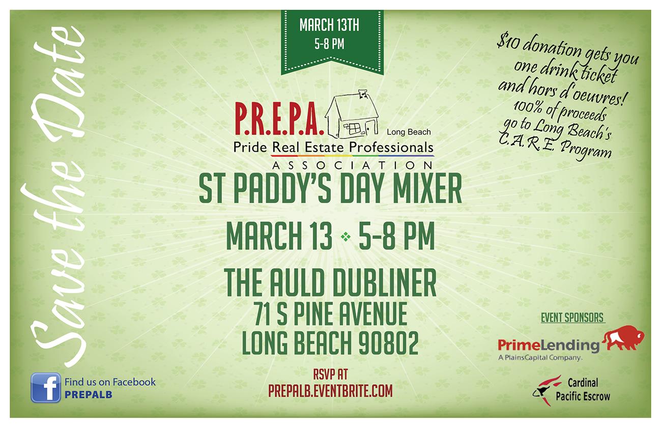 PREPA St Paddys Day Mixer