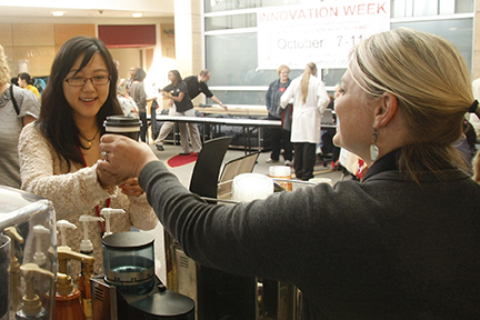 Free coffee at Innovation Week kick-off event