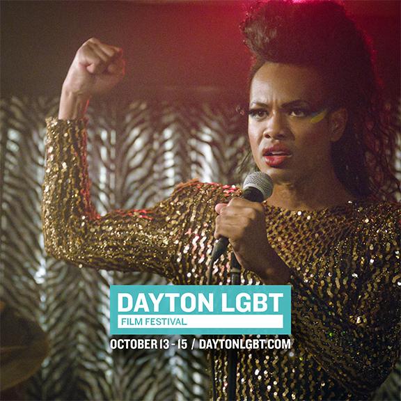 Official Postcard for 2017 Dayton LGBT Film Fest