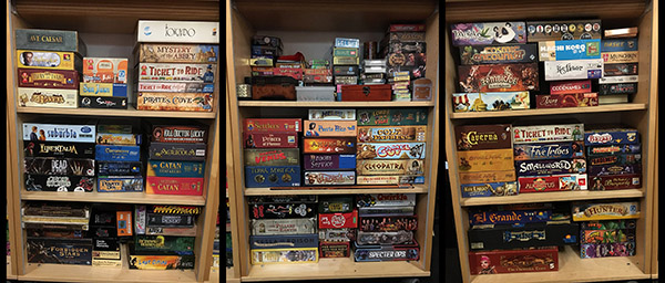 Our games library