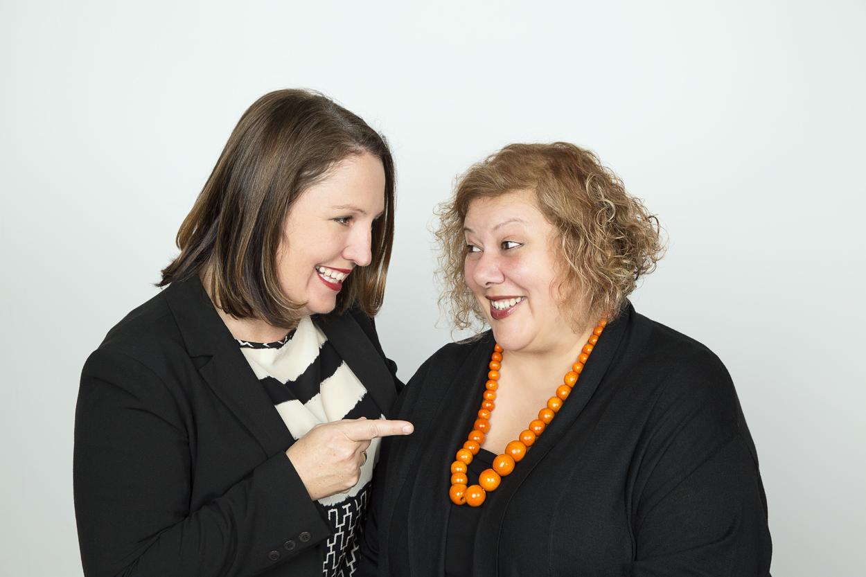 Karen Hollenbach & Marina Pitisano