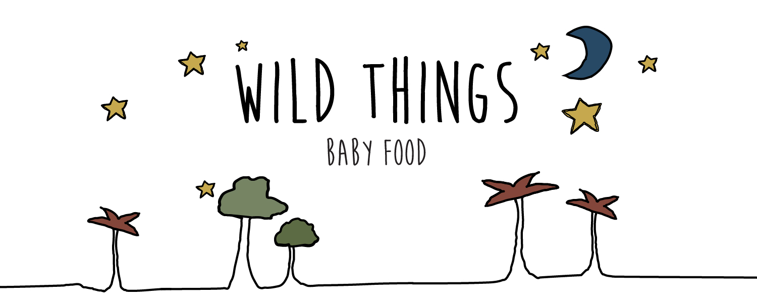 Wild Things Baby Food Logo