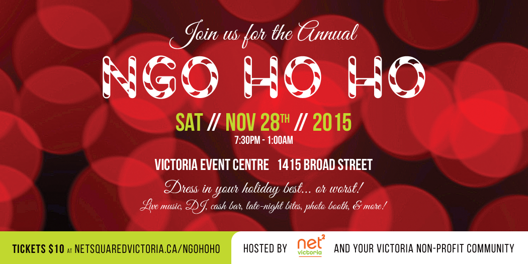 NGO HO HO: A holiday party for Victoria's non-profits