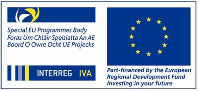 SEUPB and INTERREG IVA Logo