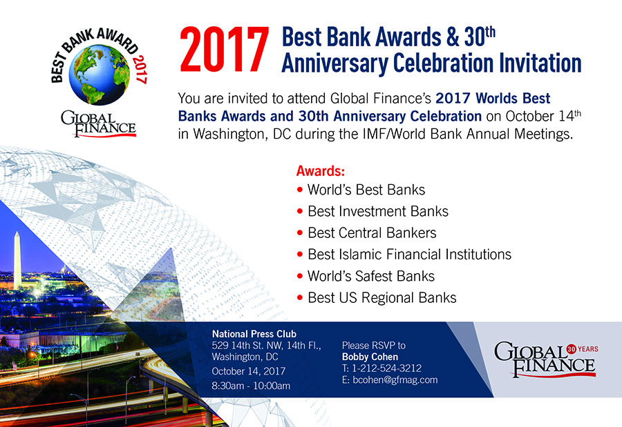 Best Bank Awards 2017