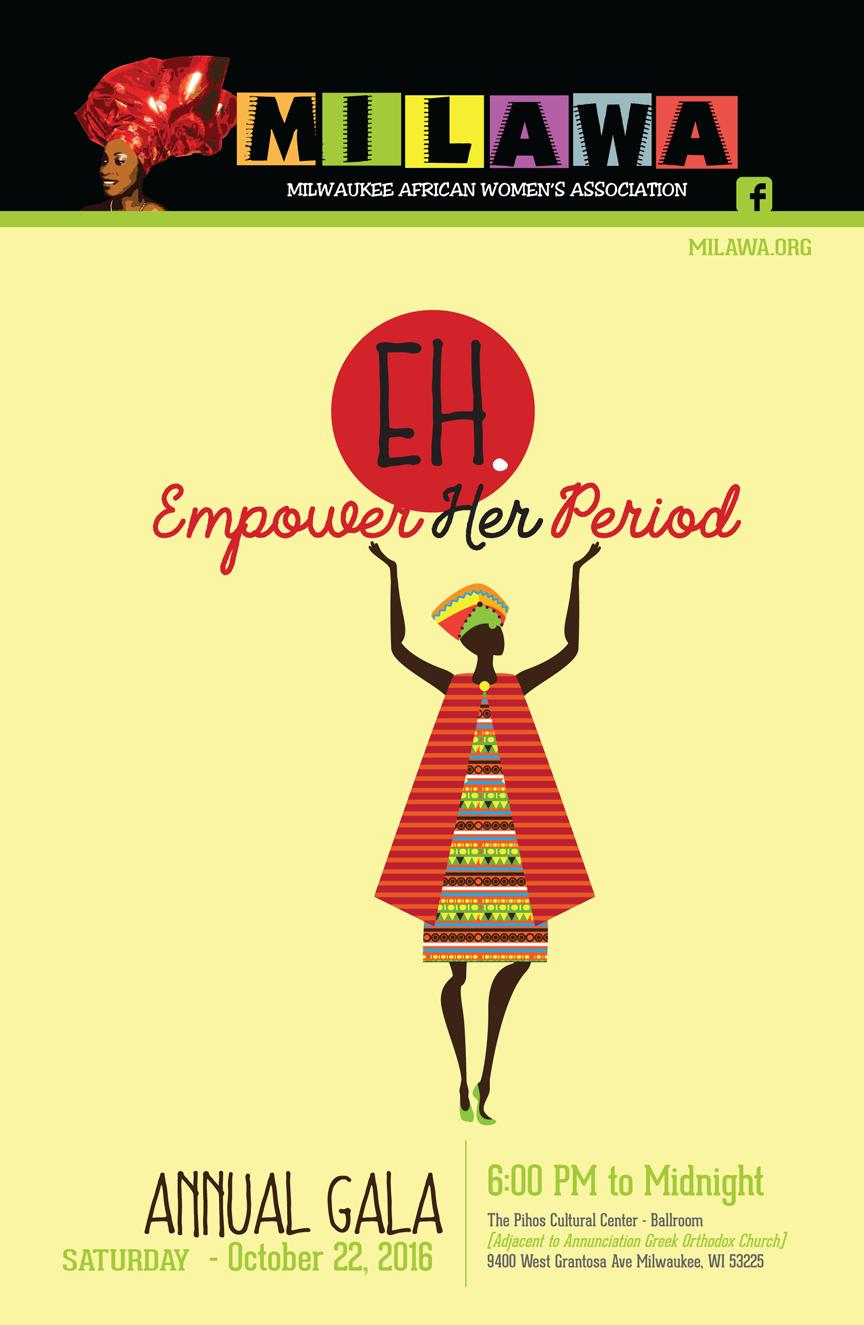 Empower her Period MILAWA gala 2016