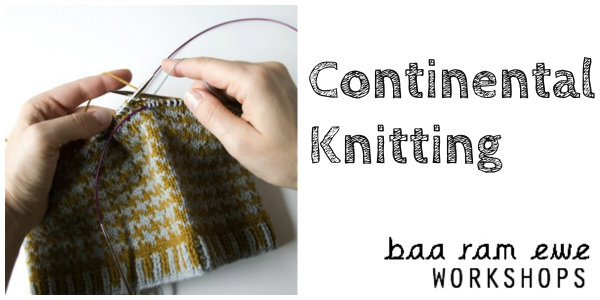 Knitting Techniques Continental : Continental knitting workshop leeds tickets sat nov