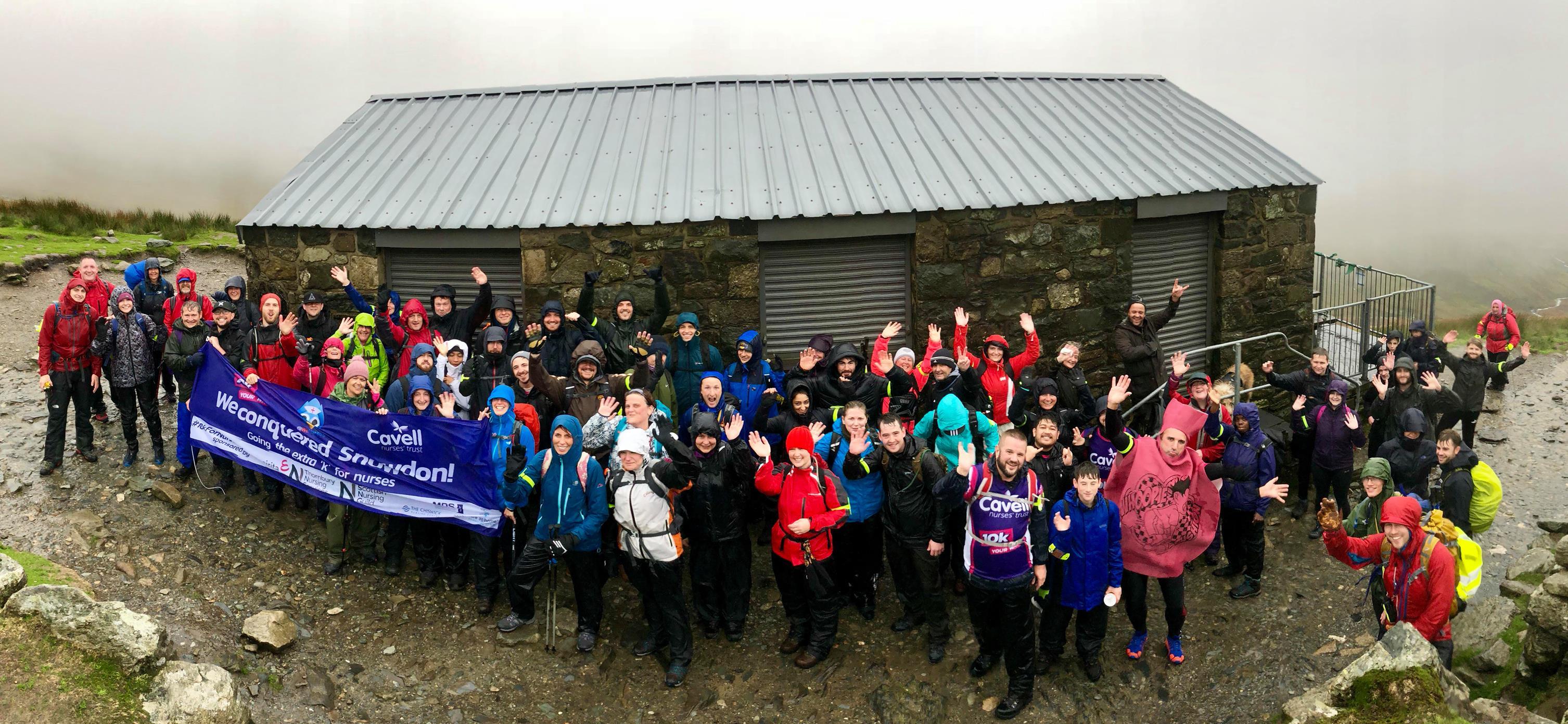 2018 Snowdon Hike participants