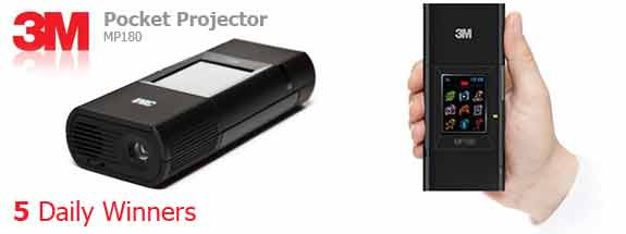 Pocket Projector MP180