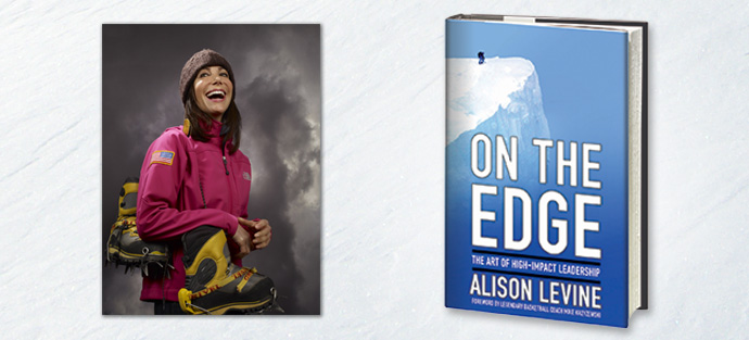 Alison Levine, author of On The Edge