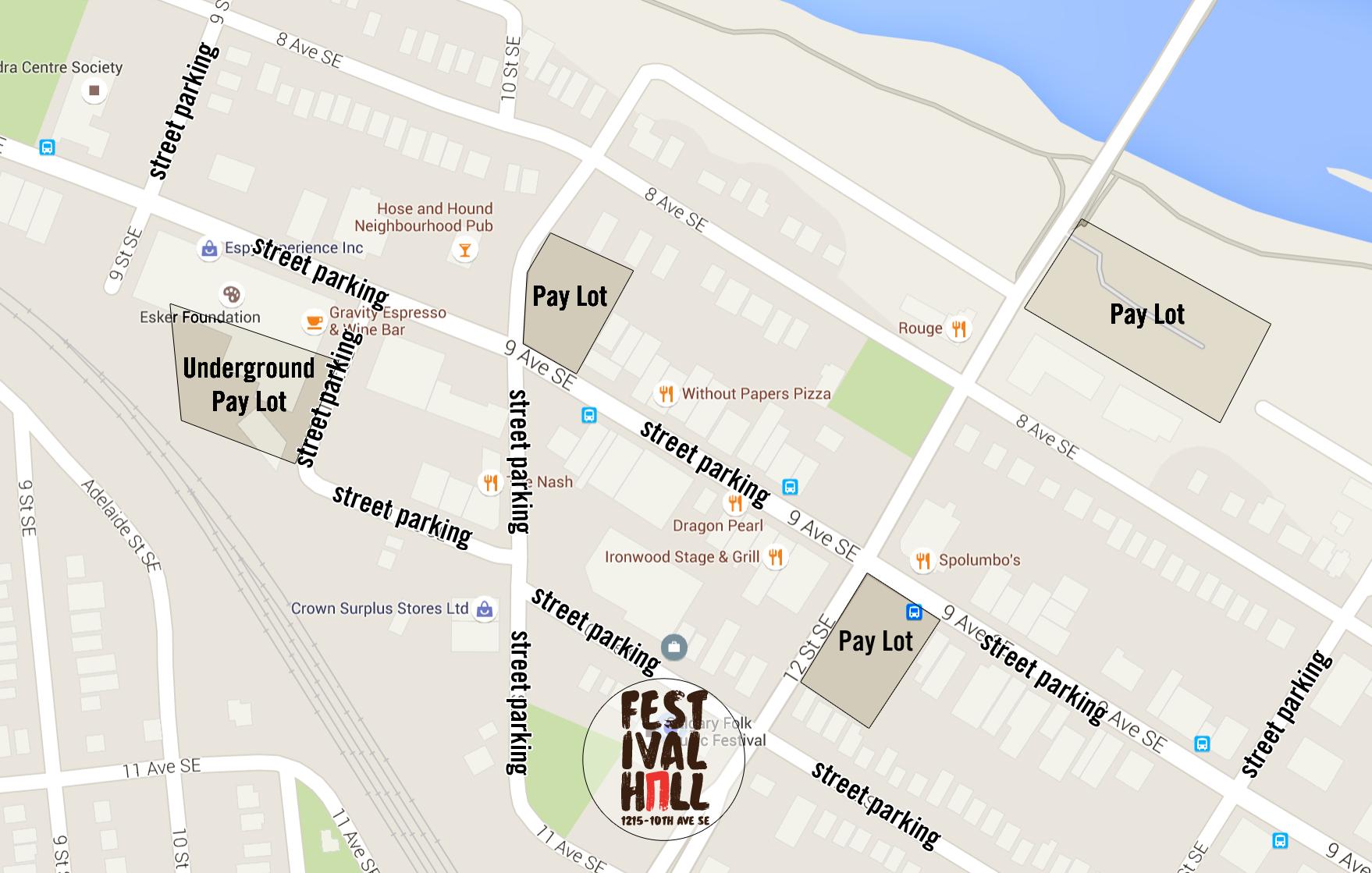 Festival Hall Parking