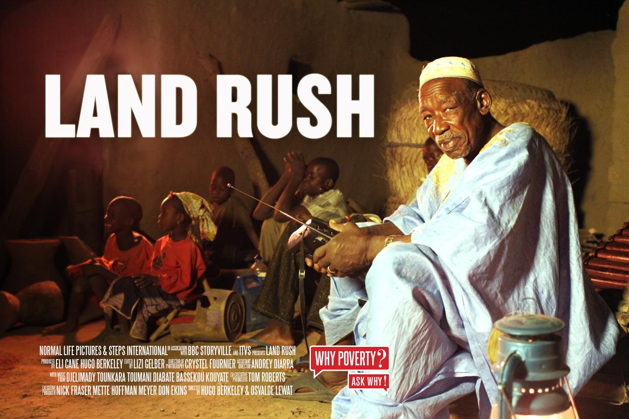 Land Rush Poster