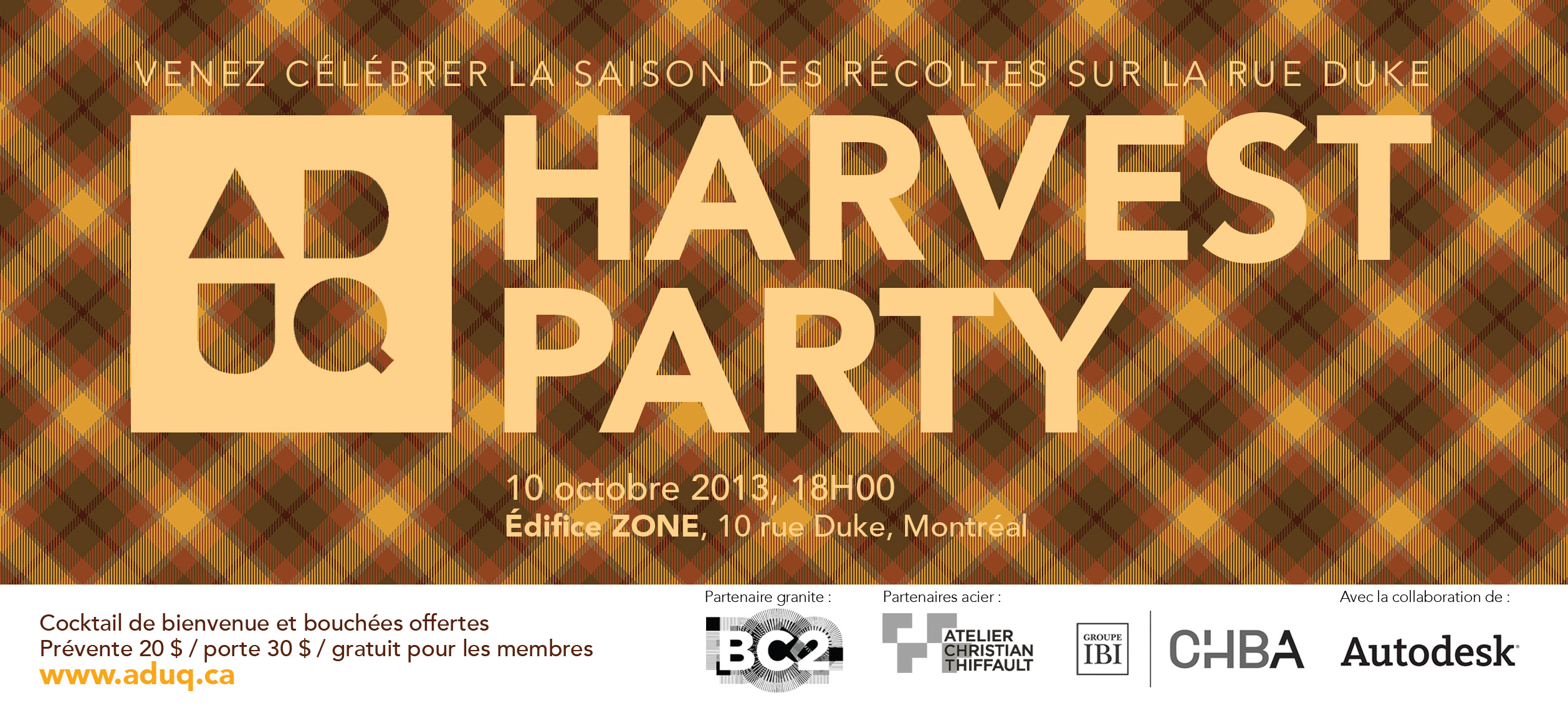 Flyer Harvest Party