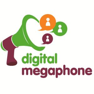 digital megaphone logo